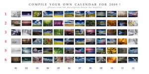 Compile your OWN Calendar 2009 by DimensionSeven