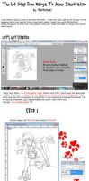 Photoshop Tutorial : Saperate Lineart by ButterLux