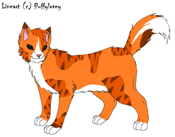 Firewing-Thistlepelt's Mate- by ObitoUchihaNii