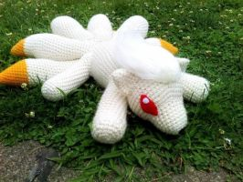 Rori the Crochet Ninetales by ArtisansShadow