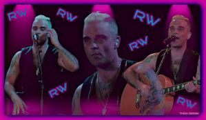 Robbie Williams Buckdesign by thomek66