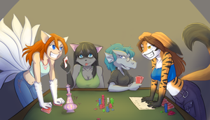 High Stakes by UnderneathYourBed