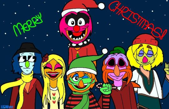 Have a Merry Mayhem Christmas 2016 by IDontLikeCoffee22