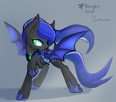 Gift: Knight Star by DarkFlame75