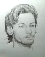 Louis Tomlinson's Portrait by Lynn5sos