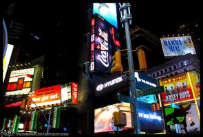 Times square by crisprice