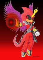 VED THE FLAMEDEVIL by Chase-TH