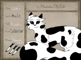 Mountains-of-Rah RP Application - Ushi by xXPandananaXx