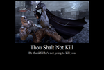 Thou Shalt Not Kill by JasonPictures