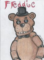 Five Nights at Freddie's - Freddie Fazbear by Megabitron