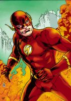 The Flash_Color2 by Troianocomics