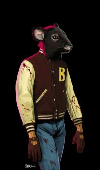 Hotline Miami by DNMNY