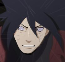 Uchiha Madara - 645 Manga Colored by HellWorld2