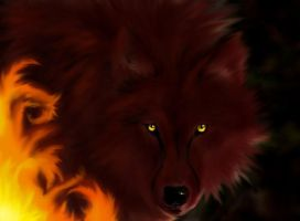 The Wolf of Fire by Lashael