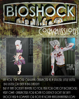 Bioshock Commissions [OPEN] by Kona-Ann