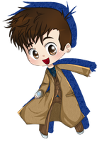 Doctor Who by 221bee