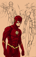 The Flash CW Redesign by kyomusha