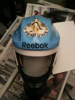 RBK custom paintjob, w/out cage (top) by cityfolkwebcomic
