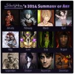 Summary of Art 2014 by Silverlykta