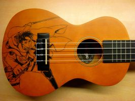 Levi Ukulele- Attack on Titan by Riko639