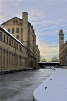 Salts Mill-Winter by Elmik5