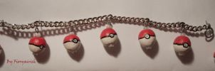 Pokeball set by Fioryairish
