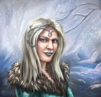 Lady of winter by cdukino