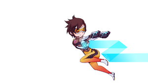 Overwatch - Tracer by Dai-kunn