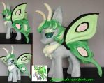 OC Actias plush by agatrix