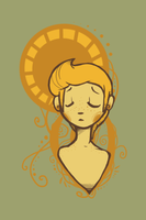 Mother's Sunflower by Coloursfall