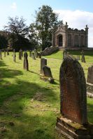 Lowther Castle Churchyard by GothicBohemianStock