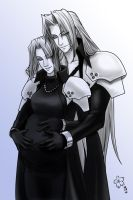 Sephiroth and Sakirei by Arc-Ecclesia