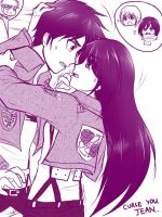 Curse You. Jean -  Eren x Veena by Vhenyfire