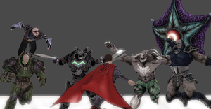Superman Villains - Injustice : Gods Among Us by Kaiology