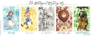 The Wonderful Wizard of Oz by cirgy