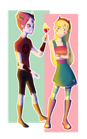 Thomas and Star by AngelBellator