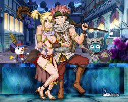 NaLu 2013 (night) by LeBishoujo
