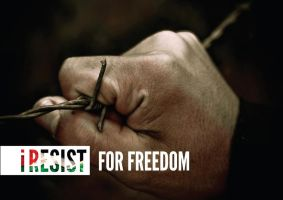 I Resist for Freedom by Quadraro