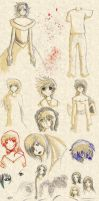 Doodle Dump: 2007-2010 by InuyashaFan4-ever