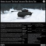 Stealth Main Battle Tank by form2function