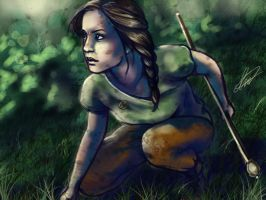 The Hunger Games: Katniss Everdeen by Annie240