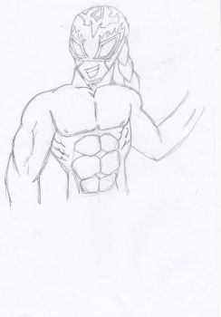 Hey this is ^^ Red Eagle Portuguese Wrestler by xBrito-Kitsune-Kun
