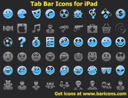 Tab Bar Icons for iPad by shockvideo