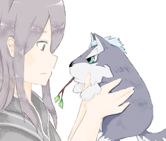 ToV: Yuri and Repede by chikappi