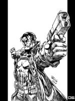 Marvel Heroes Punisher by Fpeniche