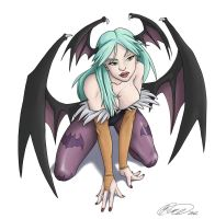 Darkstalkers Morrigan Aensland by jillybean200x