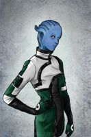 Liara Halloween Costume by Tatter-Hood