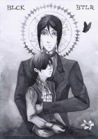 Black Butler_Monochrome. by Melkpso
