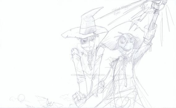 Scarecrow Rough 2 - McKay by powerbomb1411