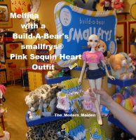 Melfina Build-a-Bear's smallfrys clothes 2 by The-Modern-Maiden